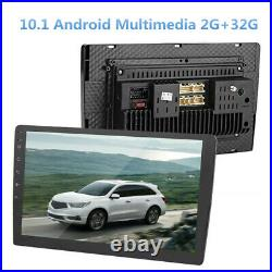 10.1in 2DIN Android Car Multimedia Player GPS Autoradio Bluetooth Stereo Radio