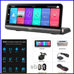1080P Android 8.1 Car DVR Dash Cam Video Recorder Camera Front And Rear GPS ADAS