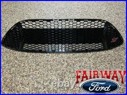 13 thru 14 Focus ST OEM Genuine Ford Parts Gloss Black Grill Grille with ST Emblem