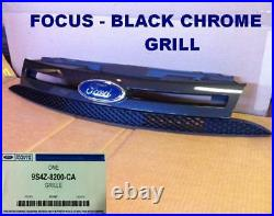 2008-2011 Ford Focus Black Chrome Grill OEM Sport SES Appearance Package ST