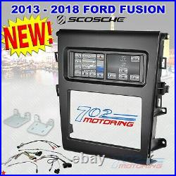 2013 2018 Ford Fusion 2-din Car Stereo Installation Kit Integrated Touchscreen