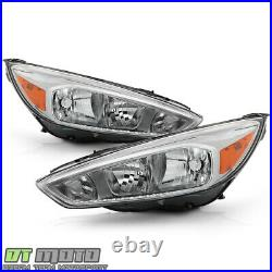 2015-2018 Ford Focus Headlights Lights Headlamps Lamps 15 16 17 18 Left+Right