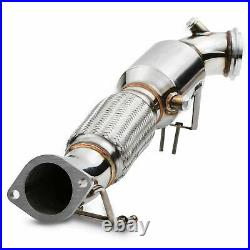 3 200 Cell Cpi Sports Cat Stainless Exhaust Pipe For Ford Focus Mk3 St 250 2.0