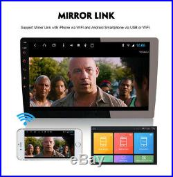 9 1 Din Quad-Core Android 8.1 Car Stereo Radio GPS Wifi 3G 4G Mirror Link