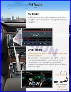 9.7'' Vertical Android 9.1 Car Stereo Radio Player GPS For Ford Focus 2012-2015