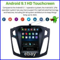 9.7Android 9.1 Car Stereo Radio GPS Nav Head Unit WiFi For 2012-2015 Ford Focus