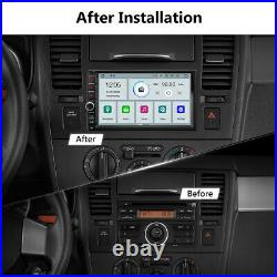 CAM+ Android 10 Double DIN 7 HD Car Stereo GPS Sat Nav DAB+ OBD2 WiFi 4G Radio