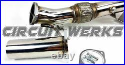 Circuit Werks 2013+ Ford Focus ST 2.0L Ecoboost Straight Downpipe Down Pipe