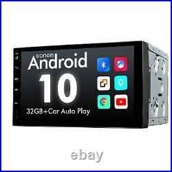 Eonon 7 IPS Double Din Android 10 Car Stereo GPS Navigation Radio Bluetooth DSP