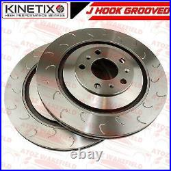 FOR FORD FOCUS RS MK3 2.3 RS 2015- FRONT PERFORMANCE BRAKE DISCS PAIR 350mm