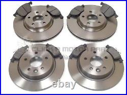FORD FOCUS MK2 1.8 TDCi 2005-2011 FRONT & REAR BRAKE DISCS & PADS CHECK SIZE