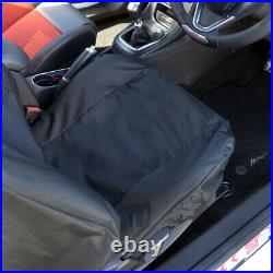 FORD FOCUS ST RECARO TAILORED SINGLE SEAT COVER IN BLACK 2012 On 162