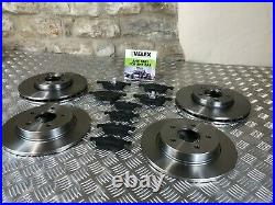 FRONT AND REAR BRAKE DISCS & PADS FORD FOCUS MK3 1.0 1.5 1.6 TDCi TI 2011-2018