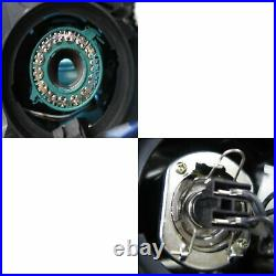 Focus MK3 11-14 Pre-Facelift Projector LED R8Look Headlight Black for FORD RHD