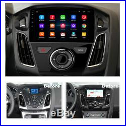 For 2012-17 Ford Focus 9'' Android 9.1 Car Stereo Head Unit Radio GPS Wifi 1+16G
