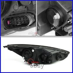 For 2015-2018 Ford Focus Led Drl+ Turn Signal Projector Headlight Tinted Clear
