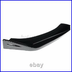 For Ford Fiesta MK6 Front Bumper Cup Chin Spoiler Lip Valance Splitter GLOSSY