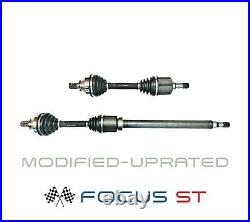 For Ford Focus 2.5 St Drive Shaft Set (modified-uprated) Lowered & Remapped Cars