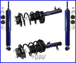 For Ford Focus 2000-2005 Front Struts with Coil Springs & Rear Shocks Kit Monroe