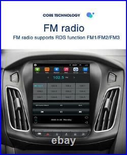 For Ford Focus 2012-17 Vertical 9.7'' Android 10.1 Car Radio MP5 Player GPS Wifi