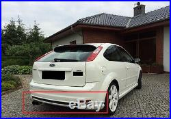 Ford Focus 2 Mk2 Full Body Kit Front And Rear Bumper Spoilers And Side Skirts