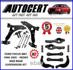 Ford Focus Mk1 1998-2005 Front & Rear Suspension Kit 16 Parts Included