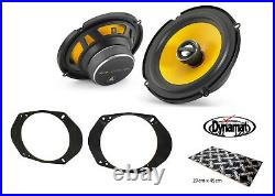 Ford Focus Mk2 ST225 6.5 Front door speaker upgrade kit from JL Audio Dynamat