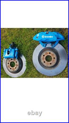 Ford Focus RS/ST250 complete front and back Brembo brake Calipers/Discs/Pads