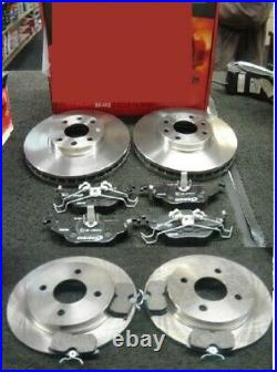 Ford Focus St170 Mk1 Brake Discs And Mintex Brake Pads Front And Rear