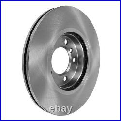 Front And Rear Rotors +Ceramic Pads For 2012 2013 2014 2015 2016 2017 Ford Focus