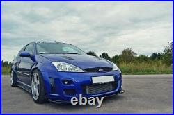 Front Diffuser (gloss Black) Compatible With Ford Focus Mk1 Rs (2002- 2003)