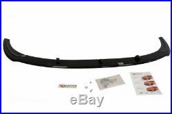 Front Diffuser (gloss Black) Fits For Ford Focus Mk2 St Facelift (2008-2011)