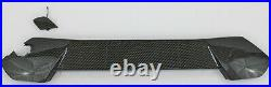 Front bumper lower spoiler grille plate 8 pc rear valance fits 2016-19 Focus RS