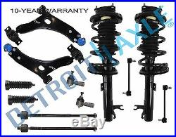 Front strut / front lower control arm for 2000 2001 2002 2003 2004 Ford Focus
