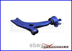 Hardrace Front Lower Control Arms H/ Rubber 2pcs Fits Ford Focus Mk2 St225 & Rs