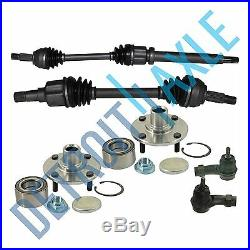 New 6pc Front Suspension Kit for Ford Focus 2000-2006 DOHC Manual 5 Speed