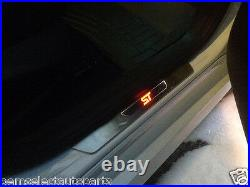 OEM NEW 2012-2018 Ford Focus ST Logo Illuminated Front Door Sill Plates LED