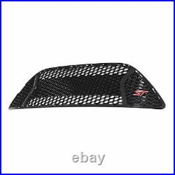 OEM NEW Front Radiator Grille Glossy Piano Black with ST Emblem Red CM5Z-8200-BA