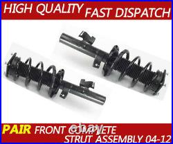 Pair Complete Shock Absorber Struts Coil Assembly for Ford focus 2004-2012 MK2