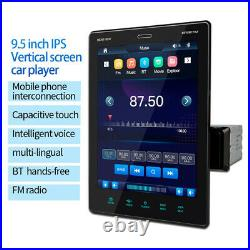 Single Din Bluetooth Touch Screen Car Stereo Radio MP5 Player FM Aux Mirror link
