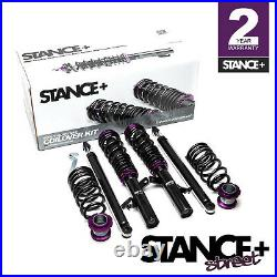 Stance+ Street Coilovers Kit Ford Focus Mk3 1.0 1.5 1.6 2.0 2.3 EcoBoost & TDCi