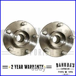X2 Front Wheel Bearing Hub + Abs For Ford Focus Mk2 St, C-max 1.4 1.6 1.8 2.0